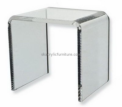 Bespoke clear acrylic console table cheap AT-247