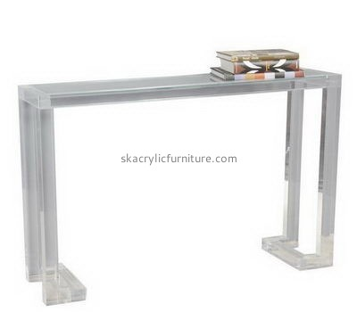 Bespoke acrylic tall side table AT-274