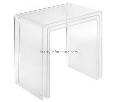 Customize acrylic side table sale AT-327