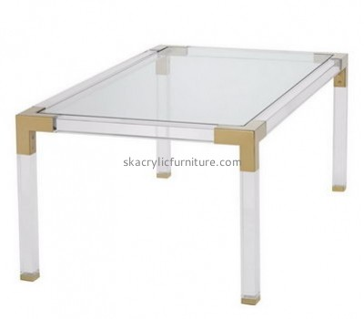 Customize lucite square coffee table AT-337