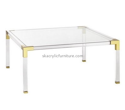 Customize acrylic rectangle coffee table AT-335