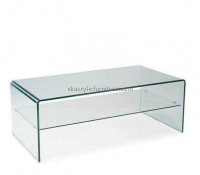 Customize plexiglass long coffee table AT-340