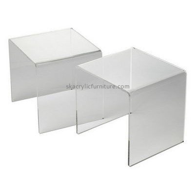 Customize acrylic small square coffee table AT-343