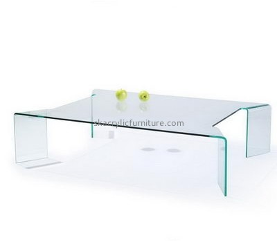 Customize acrylic small low coffee table AT-348