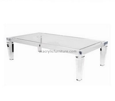 Customize acrylic large coffee table AT-354