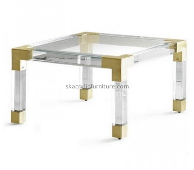 Customize lucite coffee table AT-364