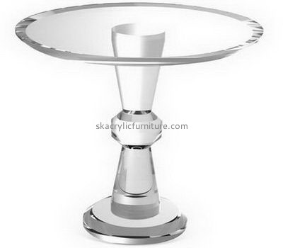 Customize acrylic small round dining table AT-396