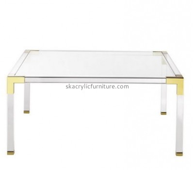 Customize acrylic coffee table cheap AT-406