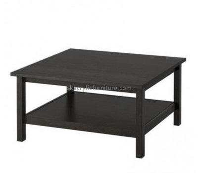 Customize acrylic square coffee table with storage AT-415