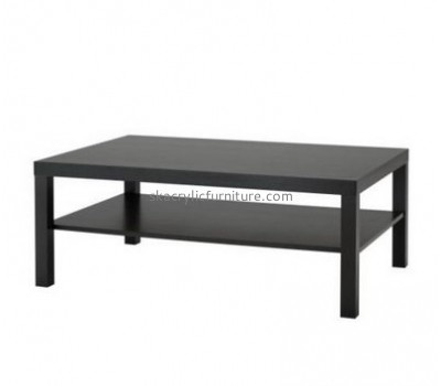 Customize black coffee table with storage AT-418