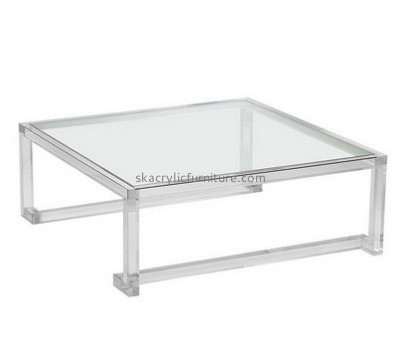 Customize acrylic rectangle coffee table AT-425