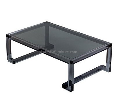 Customize acrylic coffee table for coffee shop AT-426