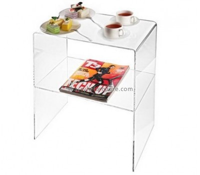Customize acrylic small end tables with storage AT-430