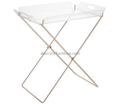 Customize acrylic foldable tray table AT-453