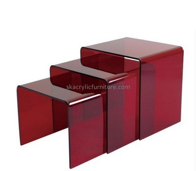 Customize red unique small coffee tables AT-470