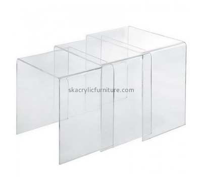 Customize clear coffee table AT-474