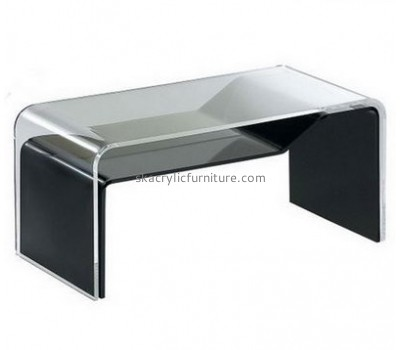 Customize black acrylic coffee table AT-478