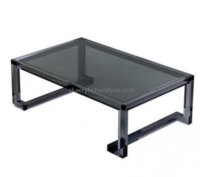 Customize acrylic black coffee table AT-490