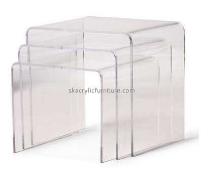 Customize acrylic modern coffee table AT-496