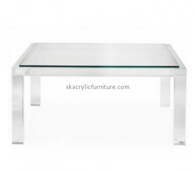 Customize lucite modern coffee table AT-497