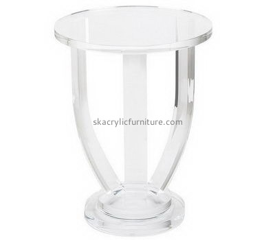 Customize acrylic small table round AT-527