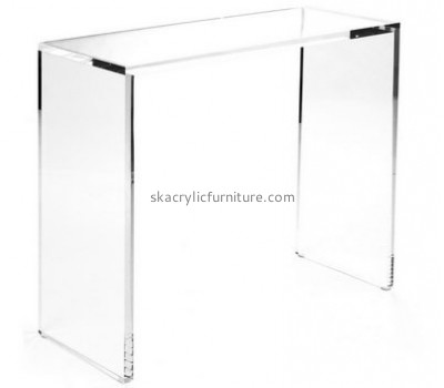 Customize lucite narrow side table AT-561