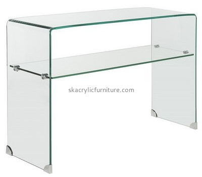 Customize perspex side table with storage AT-565