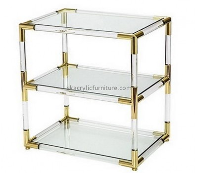 Customize acrylic end tables with storage AT-569