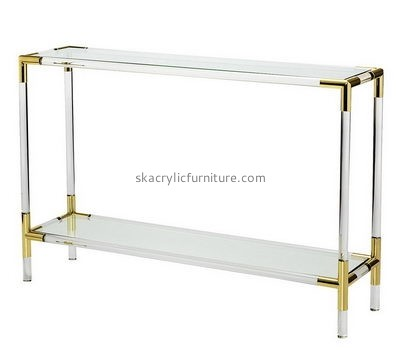 Customize perspex end tables with storage NDJ-573