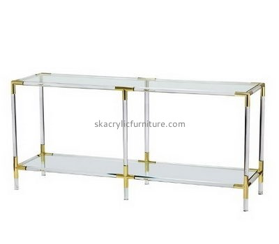 Customize lucite end tables with storage AT-572