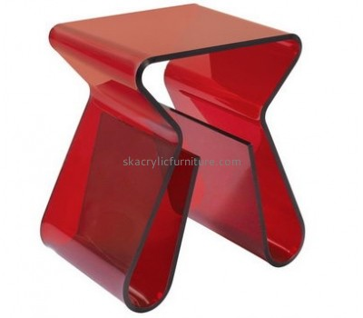 Customize perspex coffee table with shelf AT-578
