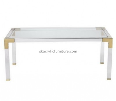 Customize plexiglass rectangle coffee table AT-595