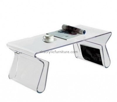 Customize acrylic small coffee table with storage AT-612