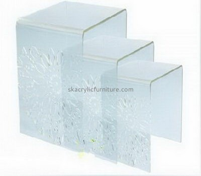 Customize lucite coffee and end table sets AT-632