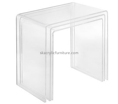 Customize acrylic coffee table and end table set AT-636