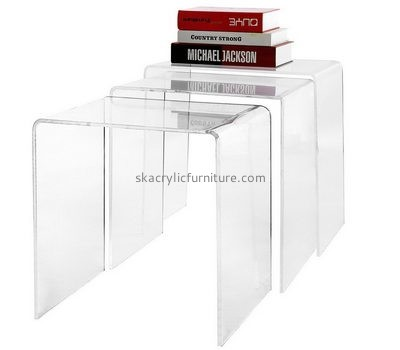 Customize lucite modern side table AT-640
