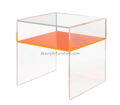 Acrylic storage side table AT-644
