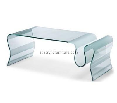 Plexiglass living room coffee table AT-646