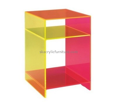 Acrylic unique end tables AT-648