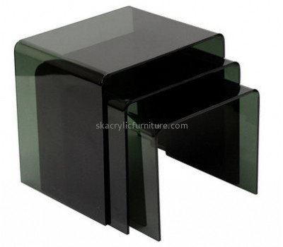 Acrylic coffee table side table set AT-654