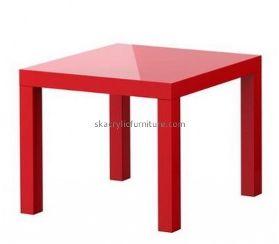 Perspex red coffee table AT-657