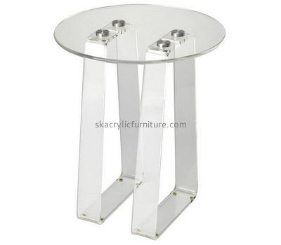 Acrylic small round coffee table AT-663