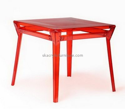 Plexiglass red coffee table AT-689