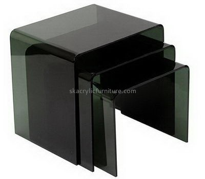 Dark green acrylic side coffee table AT-696