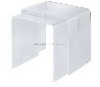 Clear acrylic coffee side table AT-693