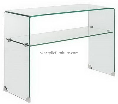 Acrylic side table with storage AT-699