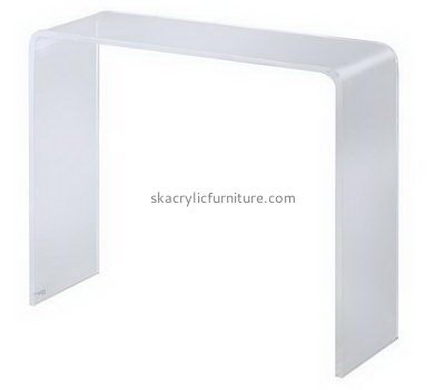 Long narrow acrylic side table AT-705