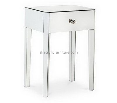 Custom acrylic desk with drawer AT-713