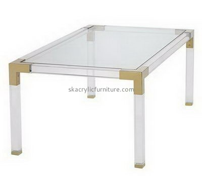 Customize clear acrylic coffee table AT-727