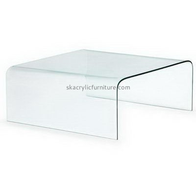 Custom low acrylic side table AT-734